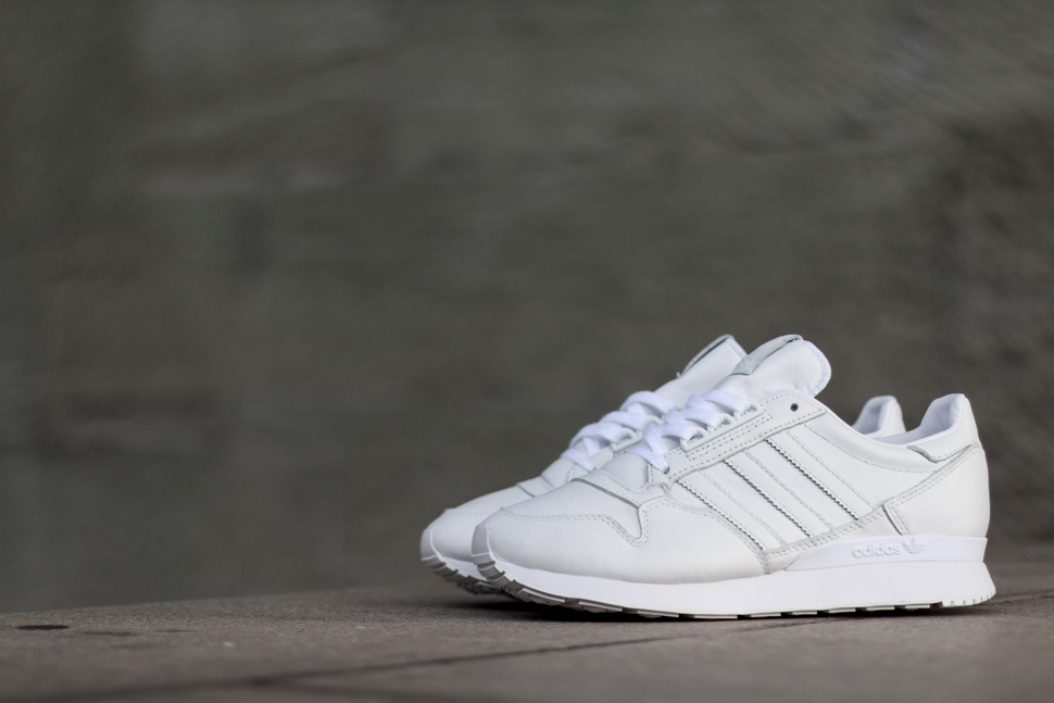 Adidas Zx 500 Og Leather Trainers Whitewhite,originals