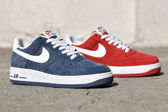 info for 98992 50b8f ... Blazer Ink Blue Nike Air Force 1 Low (2014 Suede Pack) ...