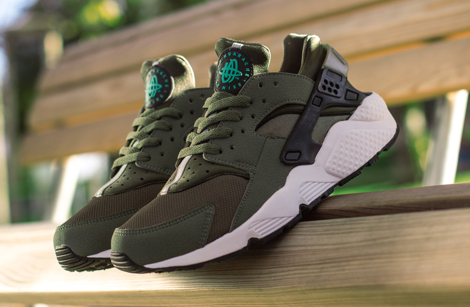 reputable site 8ac90 c1121 ... sale nike air huarache iron green black pine cargo 17b34 4c4c0