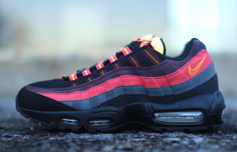 Nike Air Max Orange Et Jaune 95
