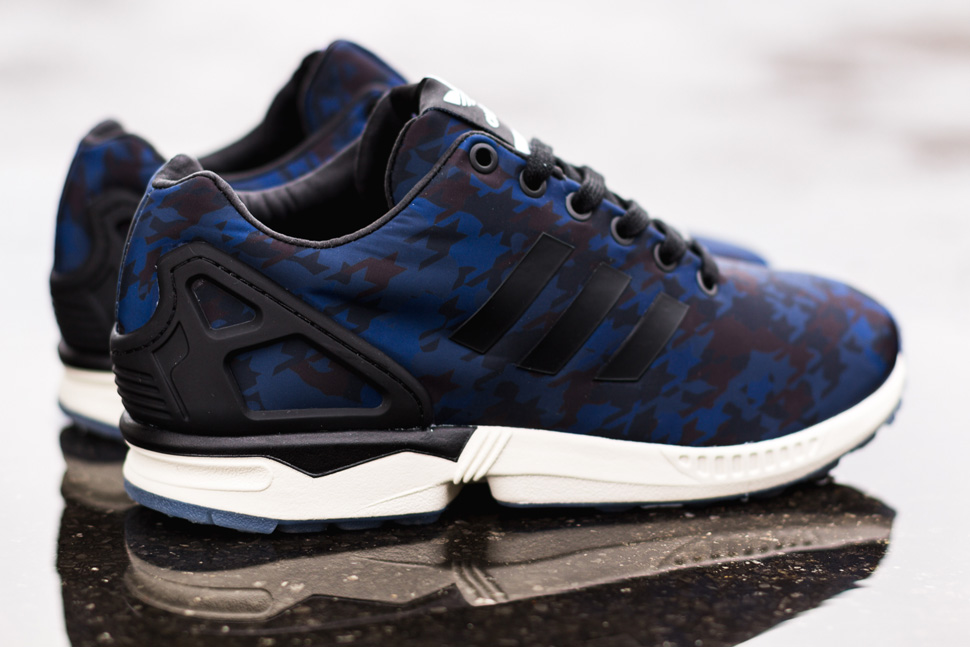 premium selection b639a 80d26 sale italia independent x adidas zx flux cored navy 6f66e 40df9