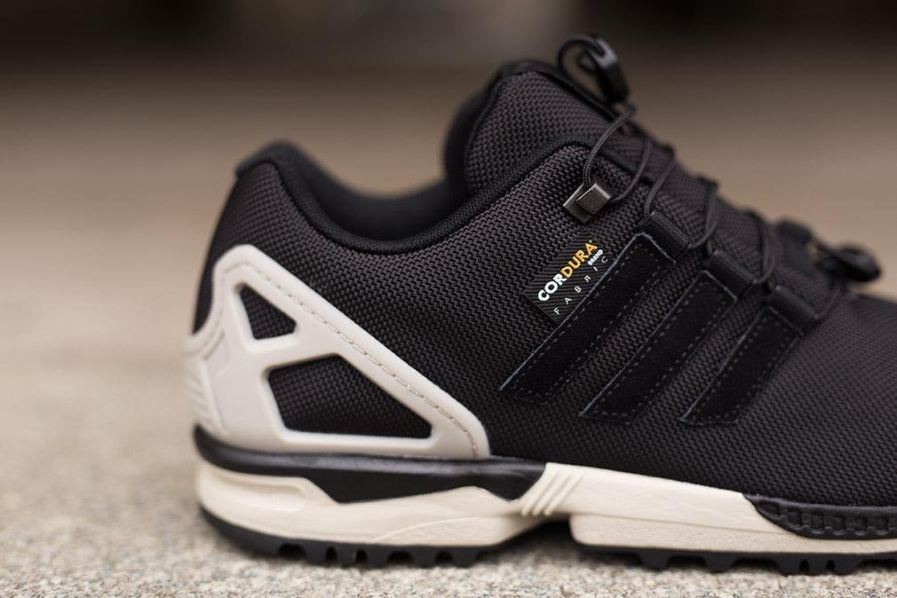 the best attitude 375e8 e3b8c best price adidas zx flux winter laces 4ba6d 3c7ba