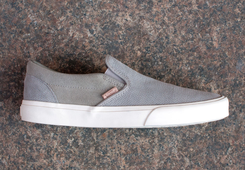 a810e5bf916 vans knit suede classic slip on ca