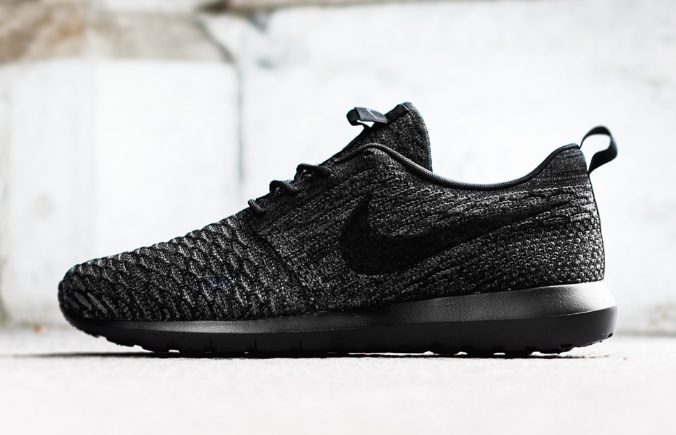 huge selection of 8caee 0d14f ... get nike flyknit roshe run nm black anthracite dark b1f75 59337