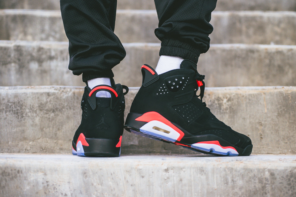 c3cacc1a9075 ... real on foot preview air jordan 6 retro infrared a9848 d30f1
