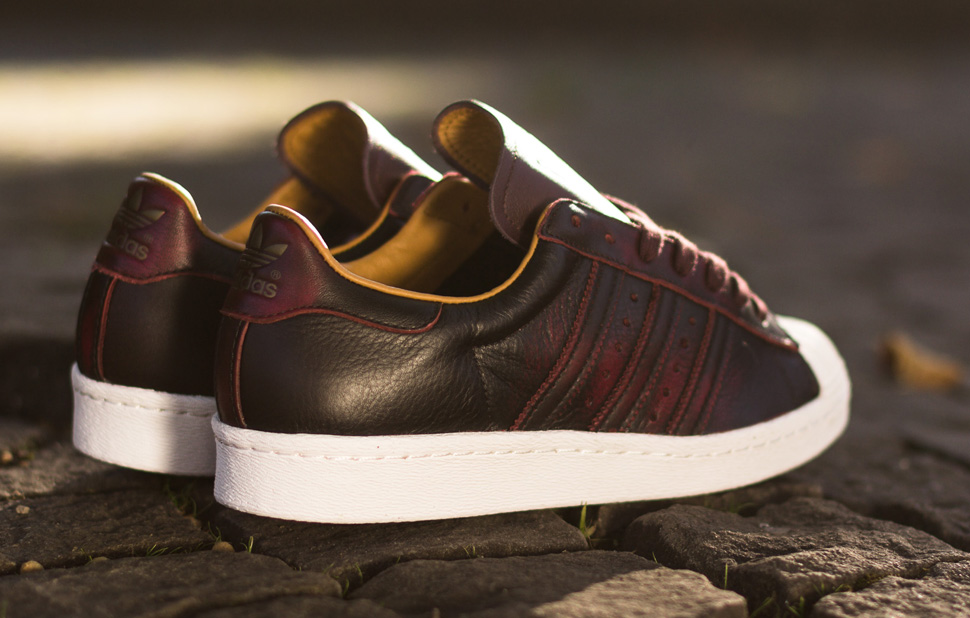 adidas superstar 2 brown leather