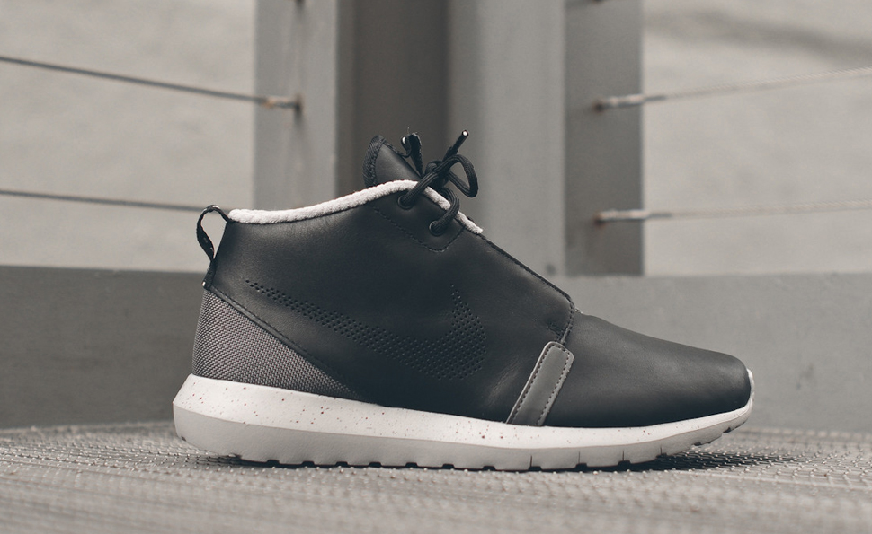 new concept fbedc ed3f7 ... reduced nike roshe run nm sneakerboot black d79d2 315ce