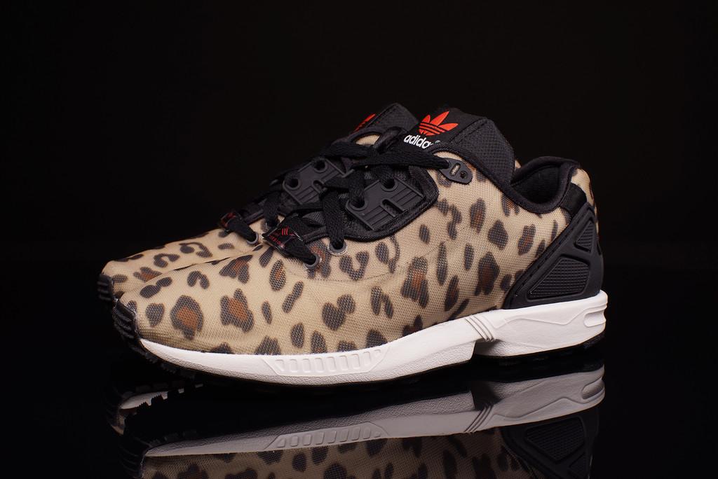 sweden adidas zx flux leopard print black dddb2 e78d6