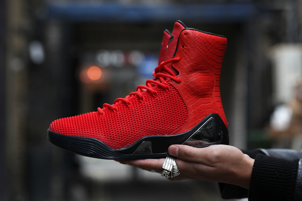 """3ebceca4693f4f ... """"Challenge Red"""" Means Business Nike Kobe 9 High KRM EXT ..."""