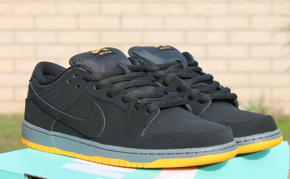 Schwarz And Yellow Nike Dunks Sb     Herren Health Network
