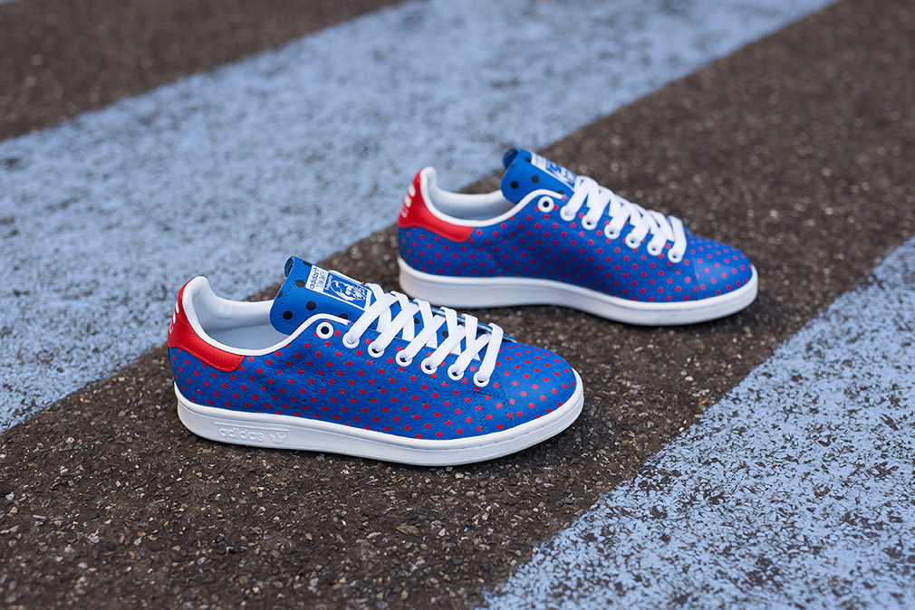 buy popular 77671 dbd7b ... where can i buy red 21afd c31a3 coupon pharrell williams x adidas stan  smith âœpolka dotâ ...