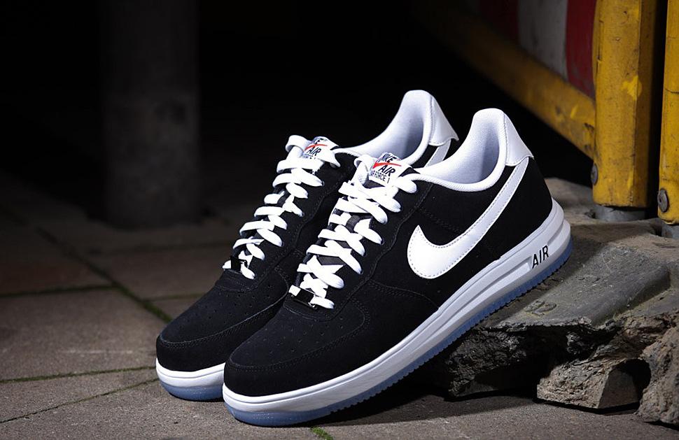 "pick up 8f159 f1777 Nike Lunar Force 1. Nike Lunar Force 1. Nike Lunar Force 1. EU Kicks Nike  Nike Air Force One Nike Lunar Force 1 '14 Suede ""Black   Whiteâ€"