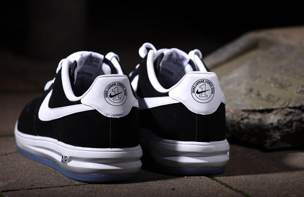 "new arrival 29d28 42137 Nike Lunar Force 1. EU Kicks Nike Nike Air Force One Nike Lunar Force 1 '14  Suede ""Black   Whiteâ€"