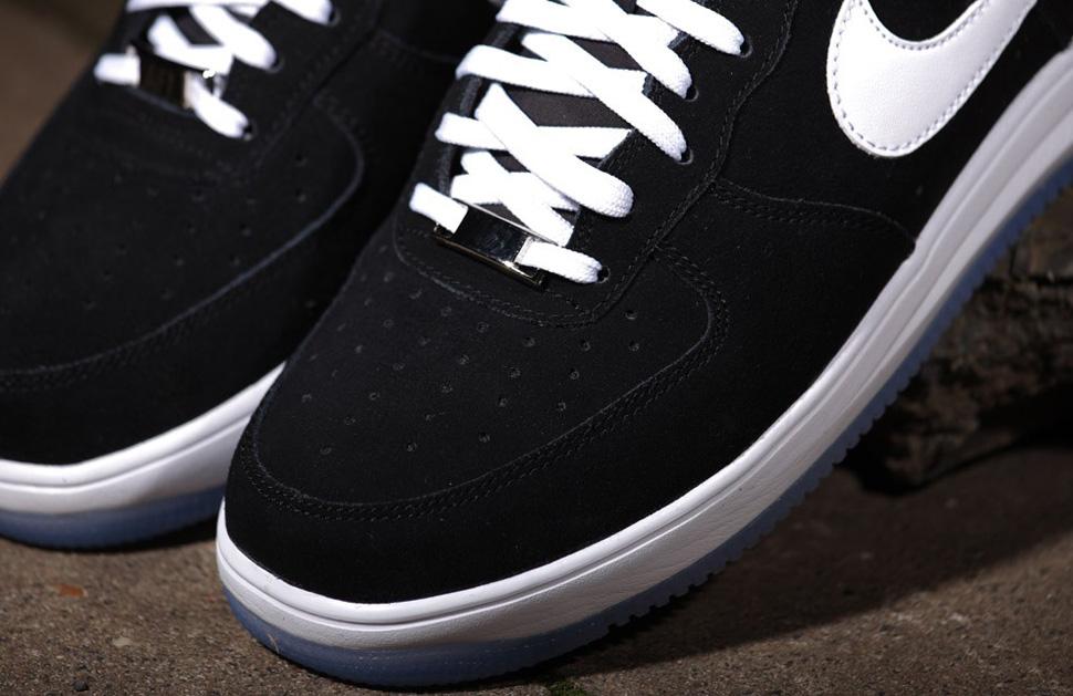 """Nike Lunar Force 1 '14 Suede """"Black & White†OG"""