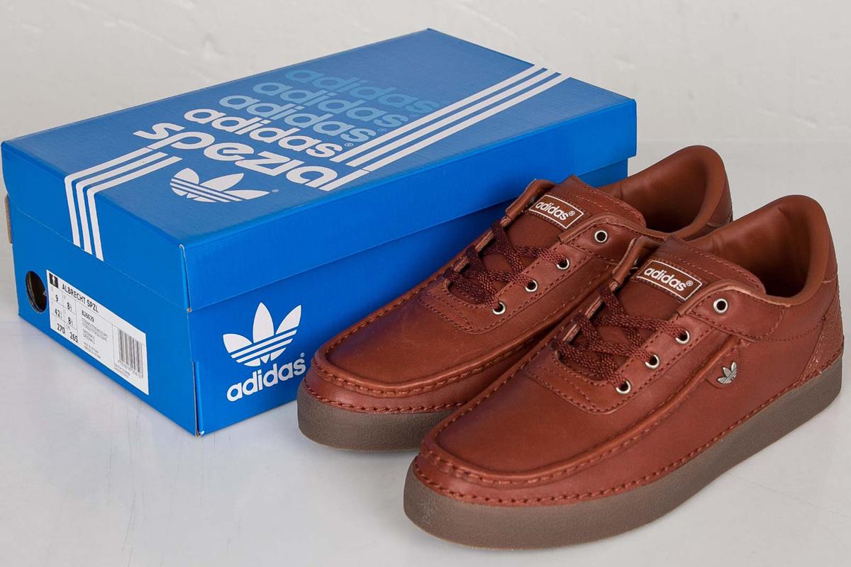 timeless design d0d09 24d75 SPEZIAL x adidas Originals Albrecht SPZL