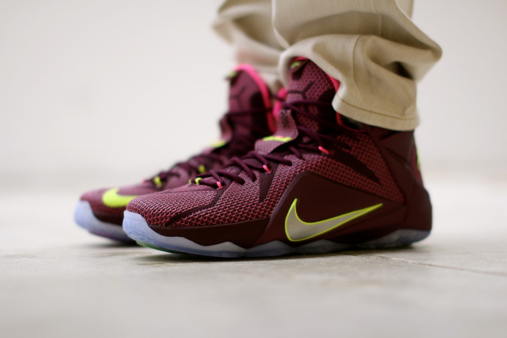 "342607132f5 Nike LeBron 12 ""Double Helix†(Detailed Pictures) - OG EUKicks Sneaker  Magazine"