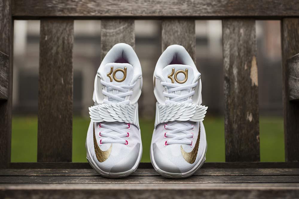 huge discount 018d3 11b98 ... 7 Aunt Pearl White mtllc Gld-pnk Pw-pr Releasing Nike KD ...