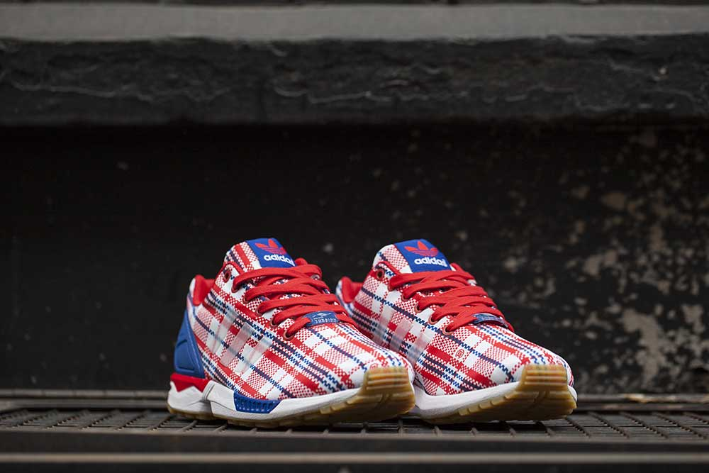 info for b882a b9ff5 adidas zx flux red blue white