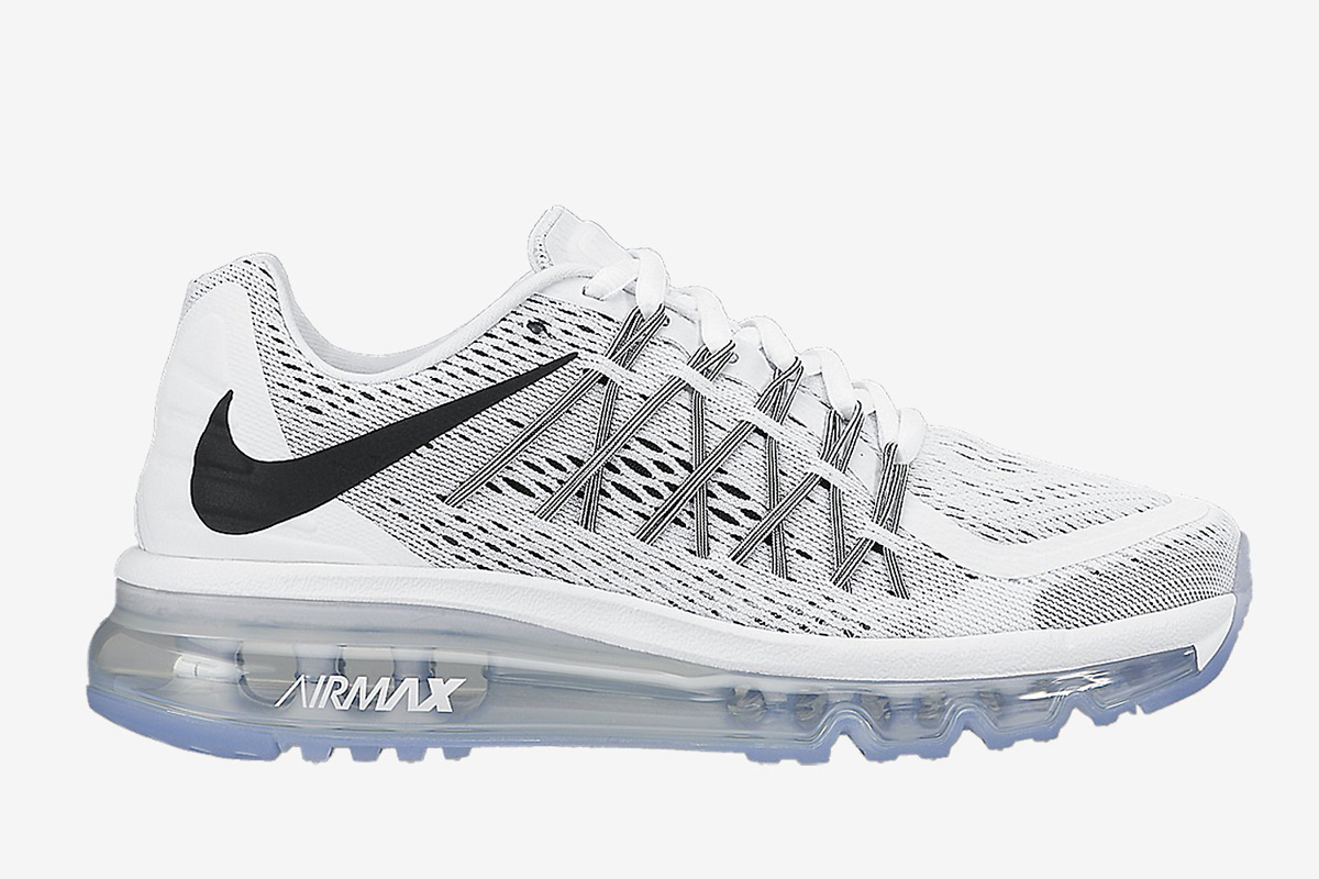nike air max 2015 all white