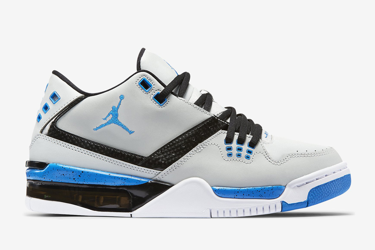 240678a405fa13 Jordan Flight Blue Grey And White