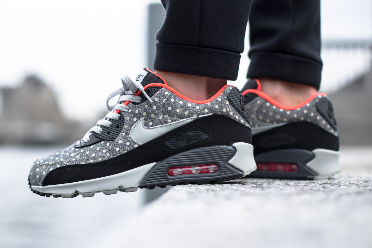 huge selection of 3c58d 80b27 Nike Air Max 90 Leather Premium (Polka Dot Pack)