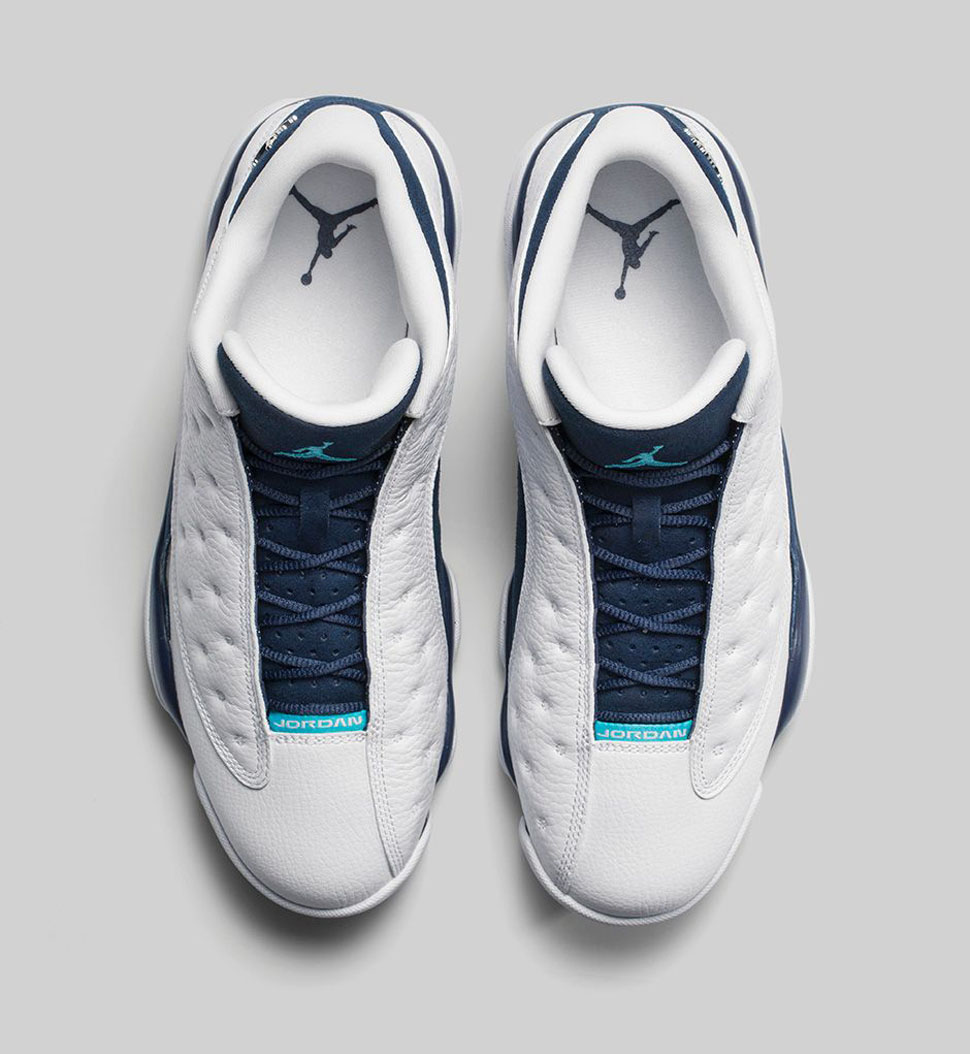 18b3274f7b8a7f ... white navy blue teal hornets 310810 107. category mens sports shoes  ab95b 4a998  hot releasing air jordan 13 retro low âœhornetsâ 05efa ffaa4
