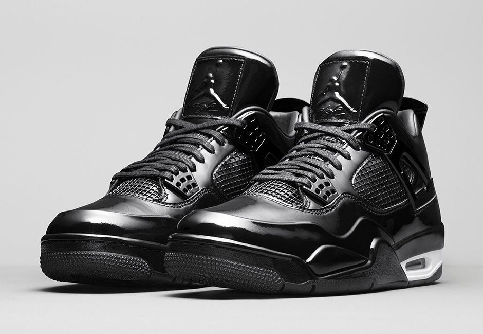 cfc68251e42111 ... switzerland air jordan 11lab4 black patent detailed pictures e3521 68ba9