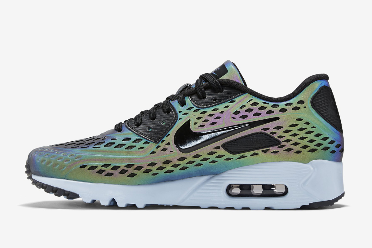 Air Max 90 Ultra Moire Iridescent nike air max 90 moire iridescent  international college of
