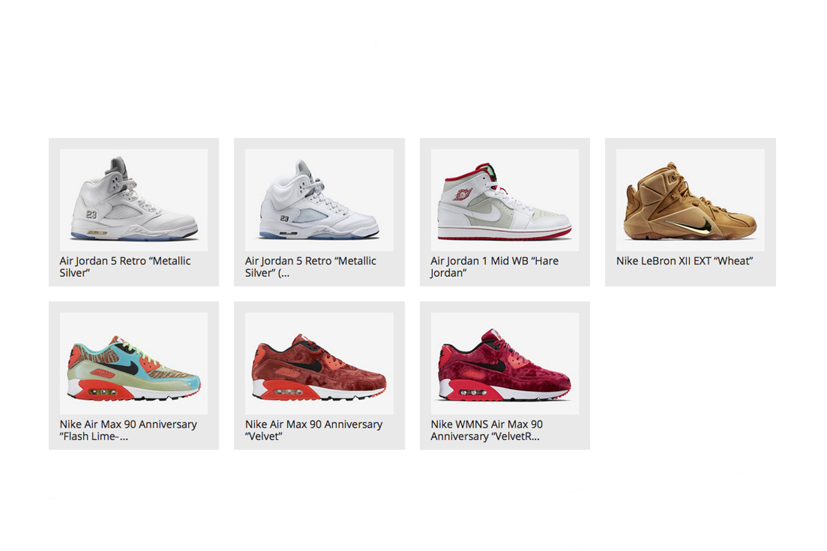 hot sales d71bb 19399 New Releases on Nike.comEurope  4th of April - OG EUKicks Sneaker Magazine