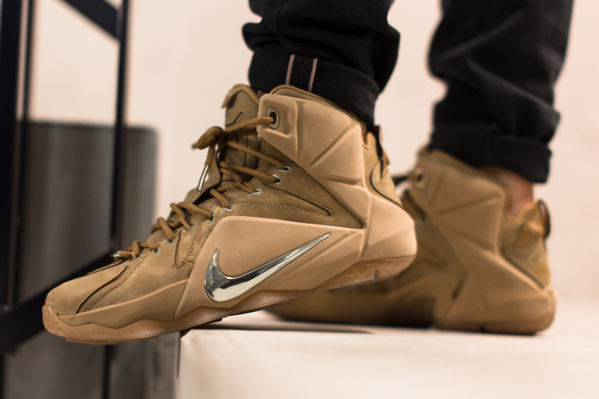 """lowest price 78a49 c29f6 Releasing: Nike LeBron 12 EXT """"Wheat†- OG EUKicks ..."""