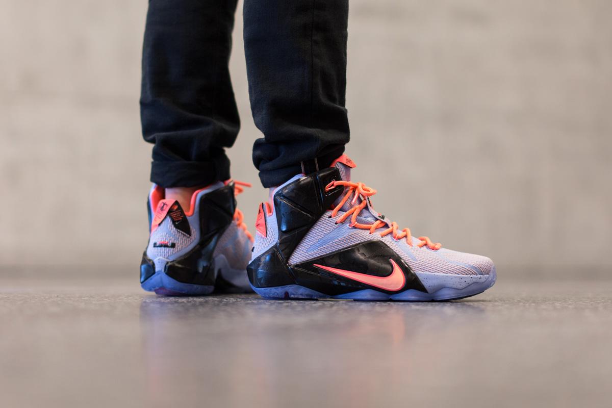 new arrival e8309 2d920 Cheap 2015 Nike LeBron 12 Easter