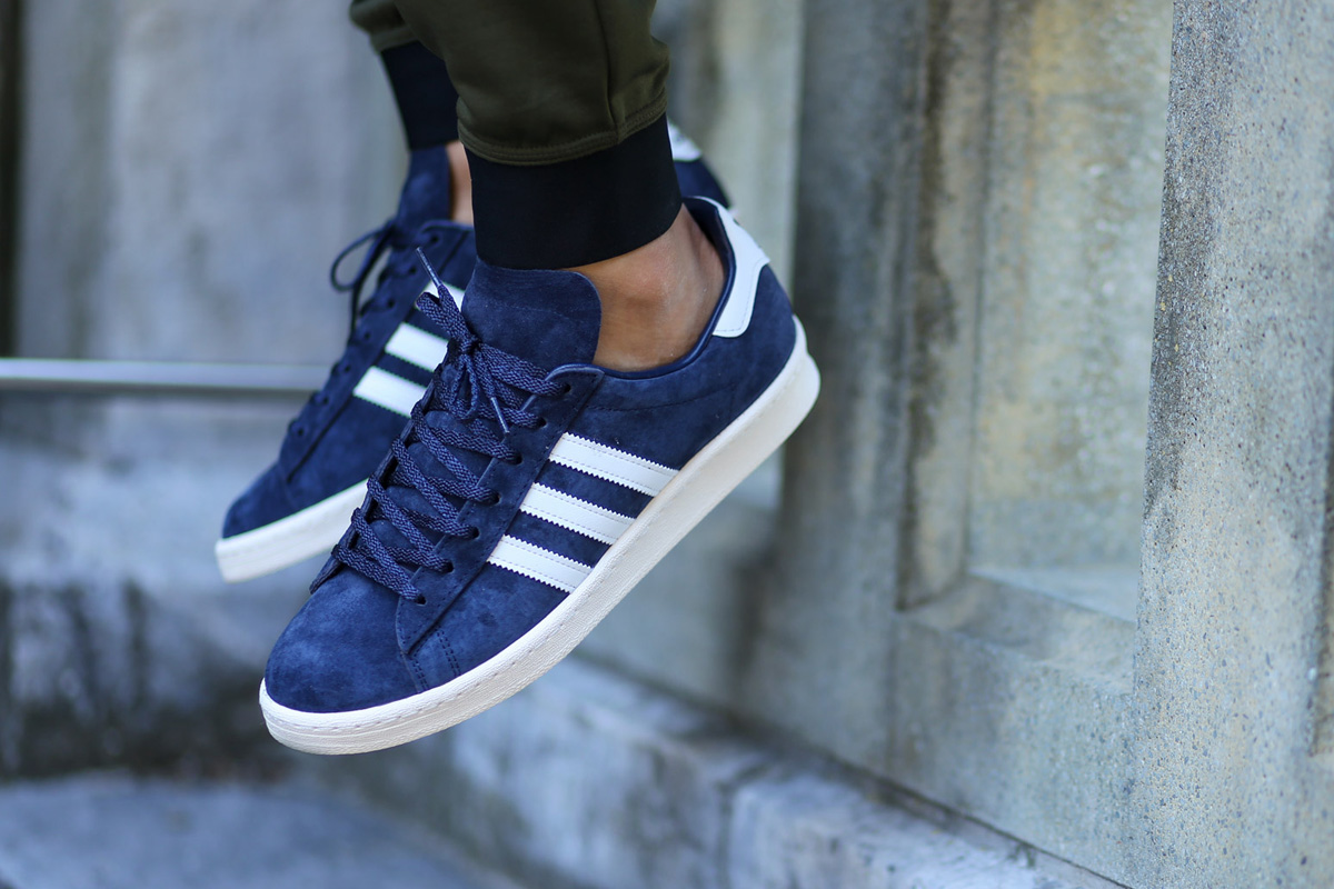 reputable site 74f21 b72a3 adidas Campus 80s Japan Pack Vintage