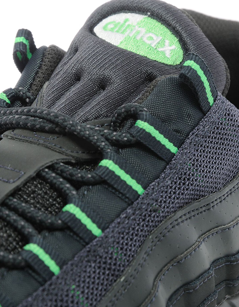 save off 80b1b 124ad ... norway nike air max 95 jd sports exclusive black green 9f37a d52c9