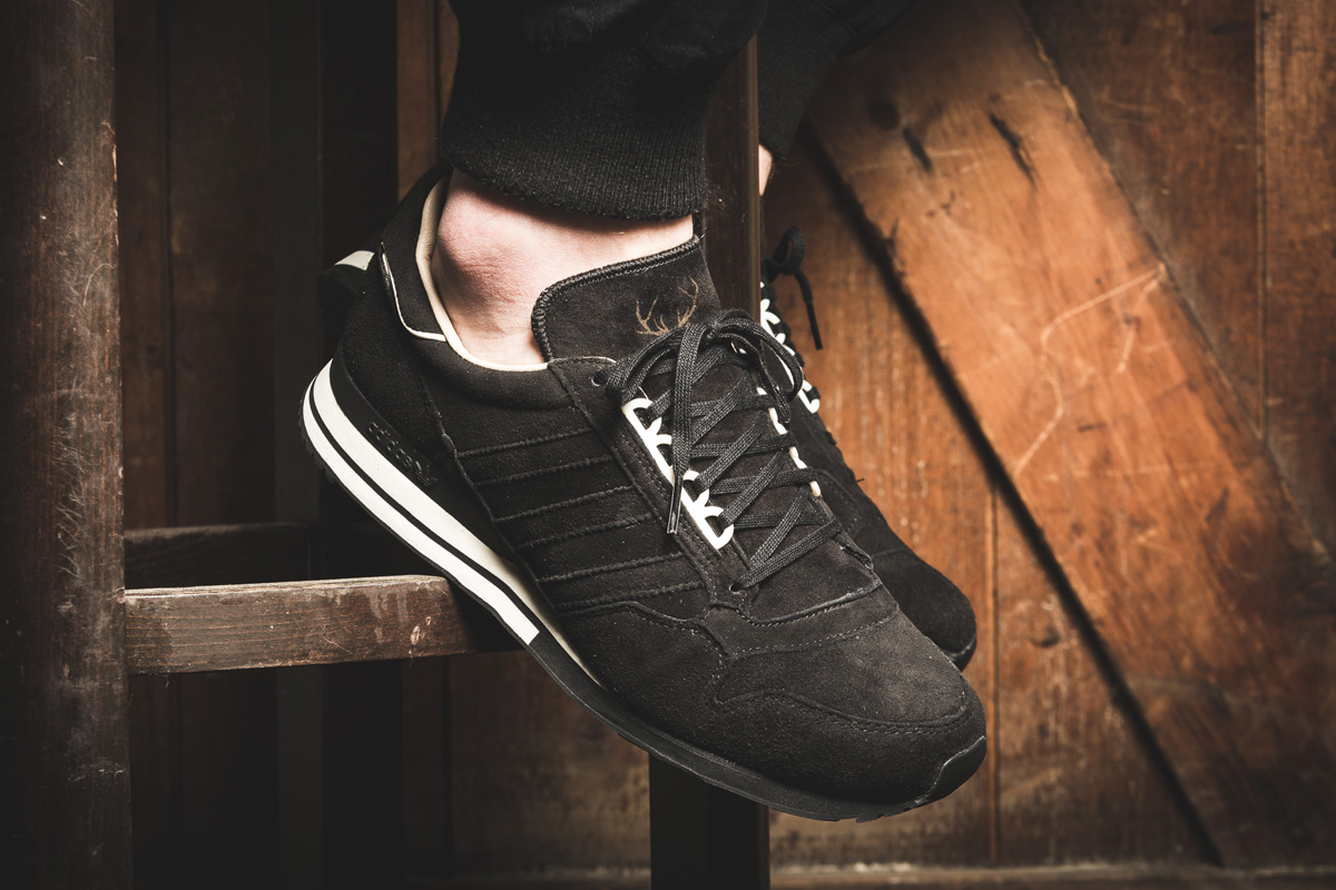 "uk availability da390 68d67 adidas ZX 500 OG ""Hirsch"" (Made in Germany) Black Pack"
