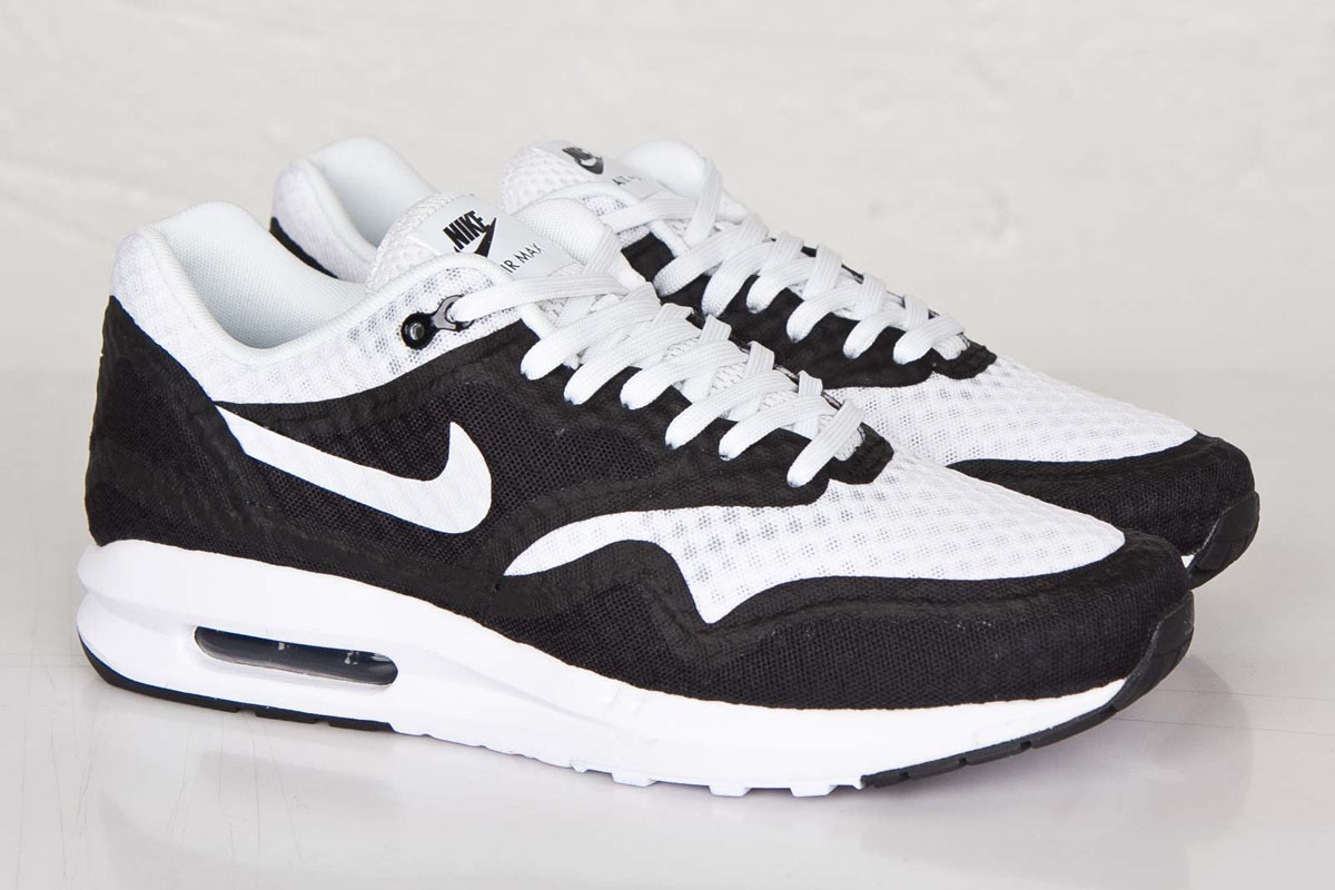 Nike Air Max Lunar90 Breeze Black White Sneaker Bar Detroit