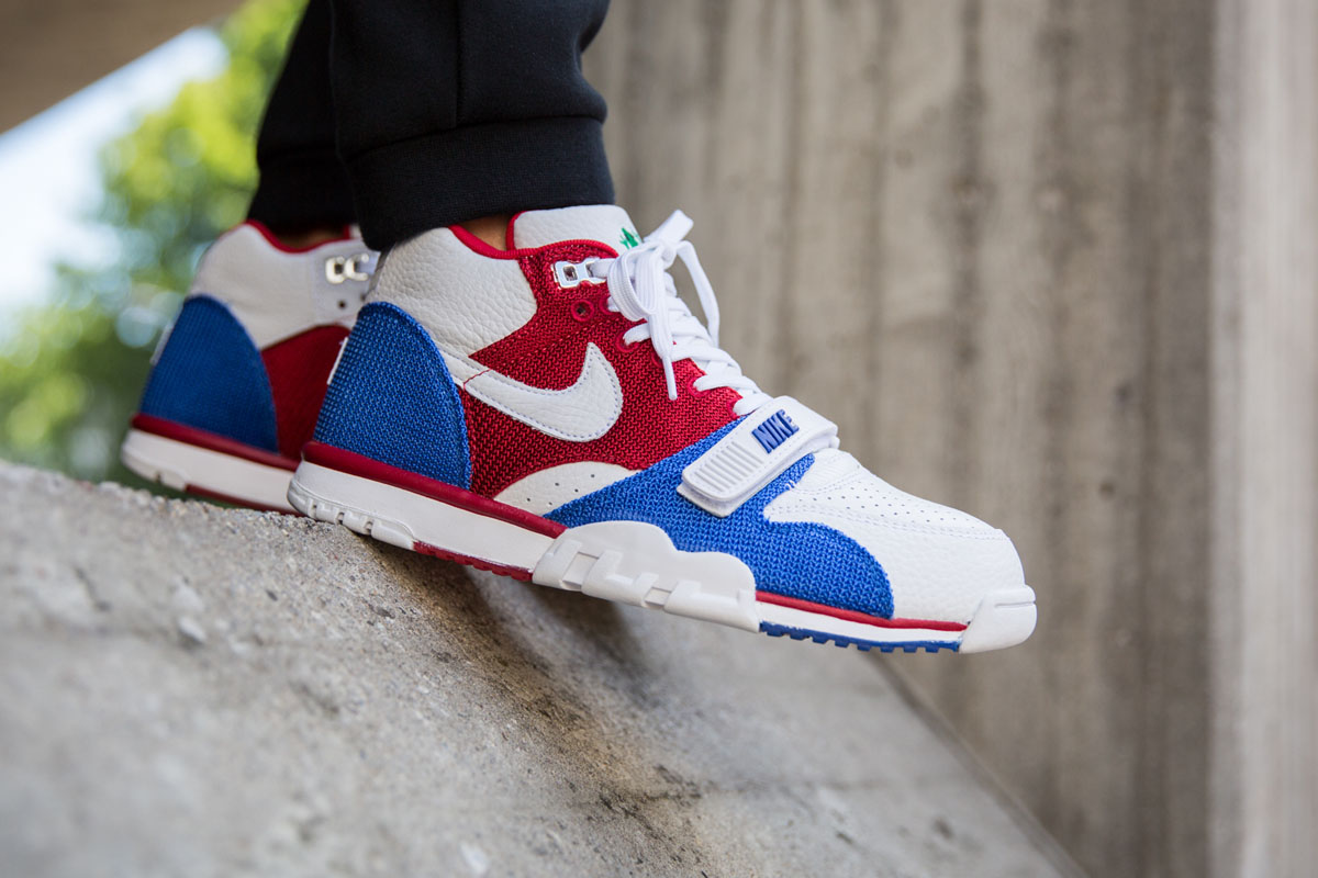 low priced 58829 dff32 Nike Air Trainer 1 Mid PRM QS