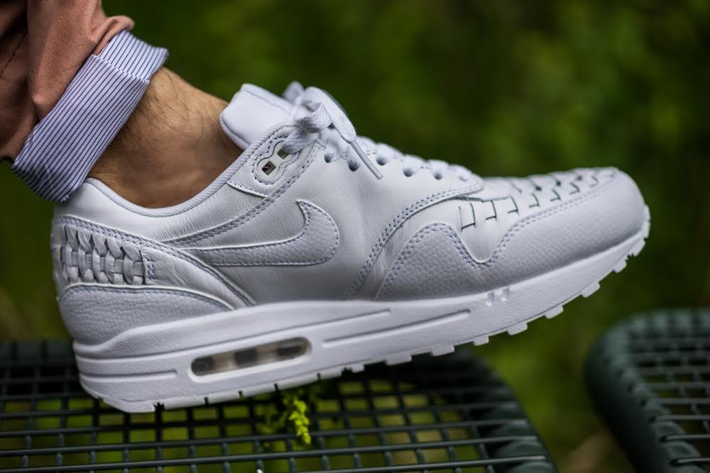 Nike Air Max 1 Woven White