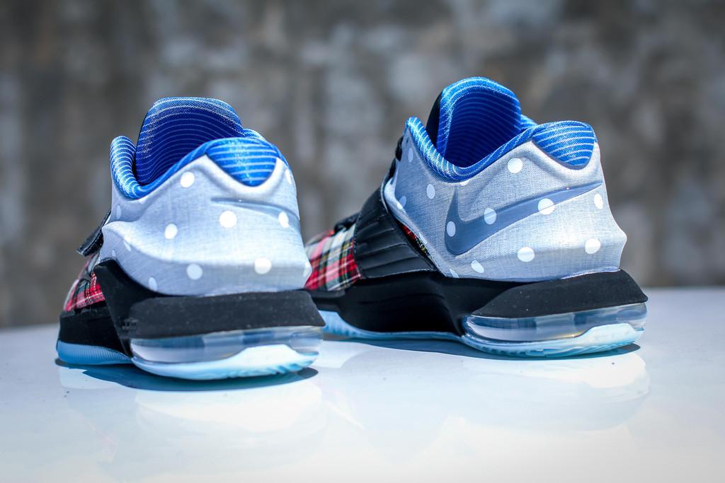 "quality design 6f2b4 21d0c Nike KD VII EXT CNVS QS ""Tartan   Polka Dots"""