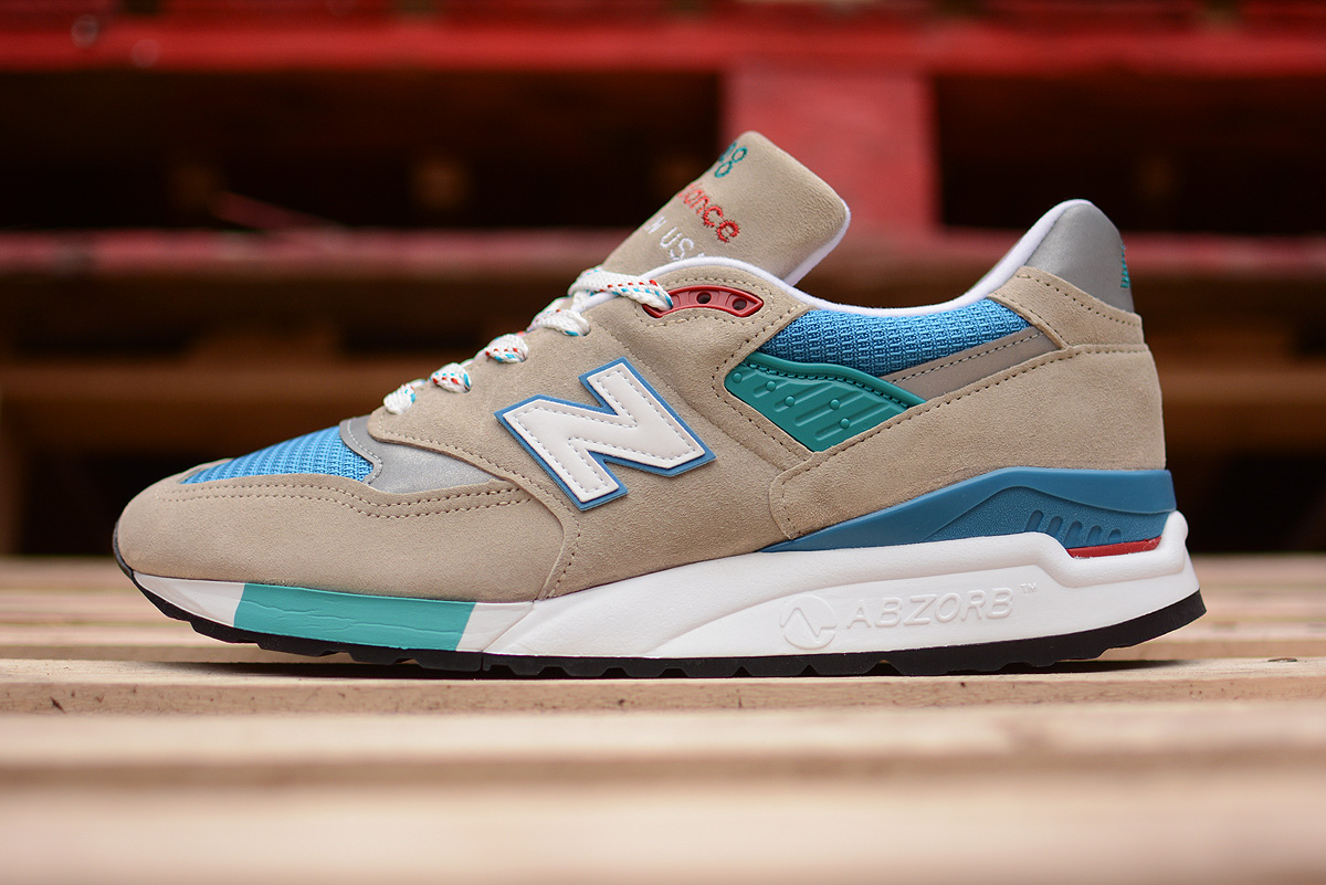 f33517995db2a sale new balance 998 made in usa beige blue teal 7491e 84349