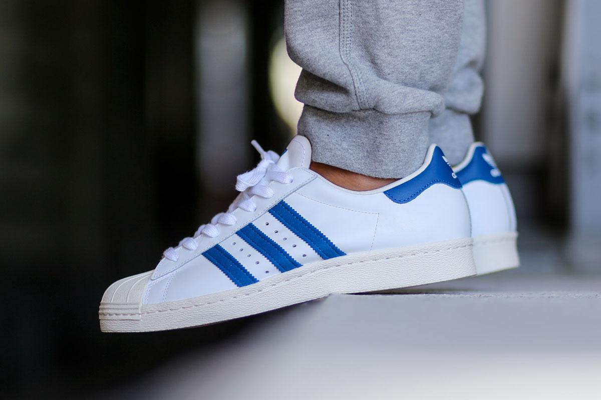 adidas superstar royal blue
