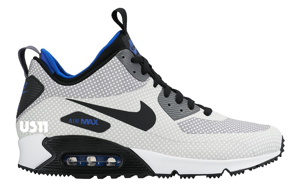 Nike Air Max 90 Mid SneakerBoot (Autumn/Winter 2015)