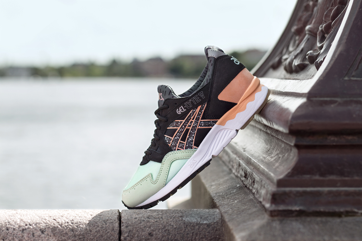 outlet latest collections cheap low price fee shipping Asics Tiger Asics Tiger Gel-Lyte V Sneaker Nude cheap sale clearance browse sale online e2gVMD