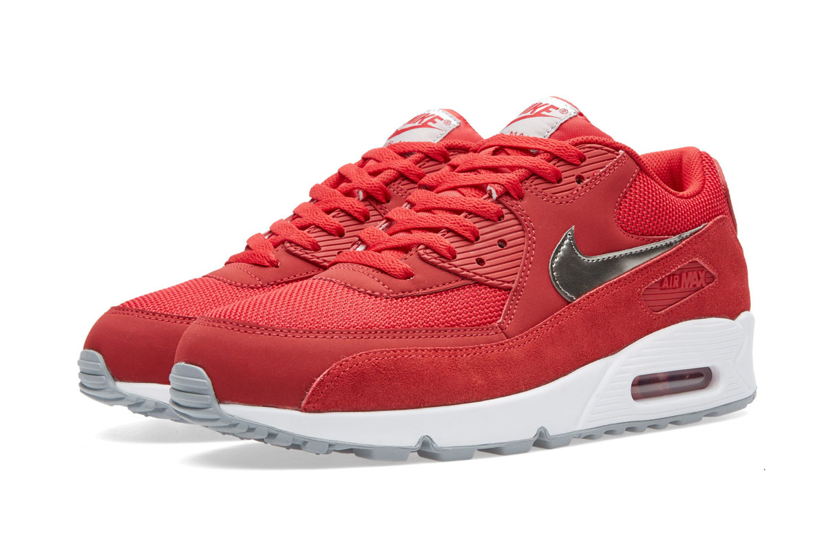 size 40 ece7b 2c6b3 shop red nike air max 90 essential 23718 a7166