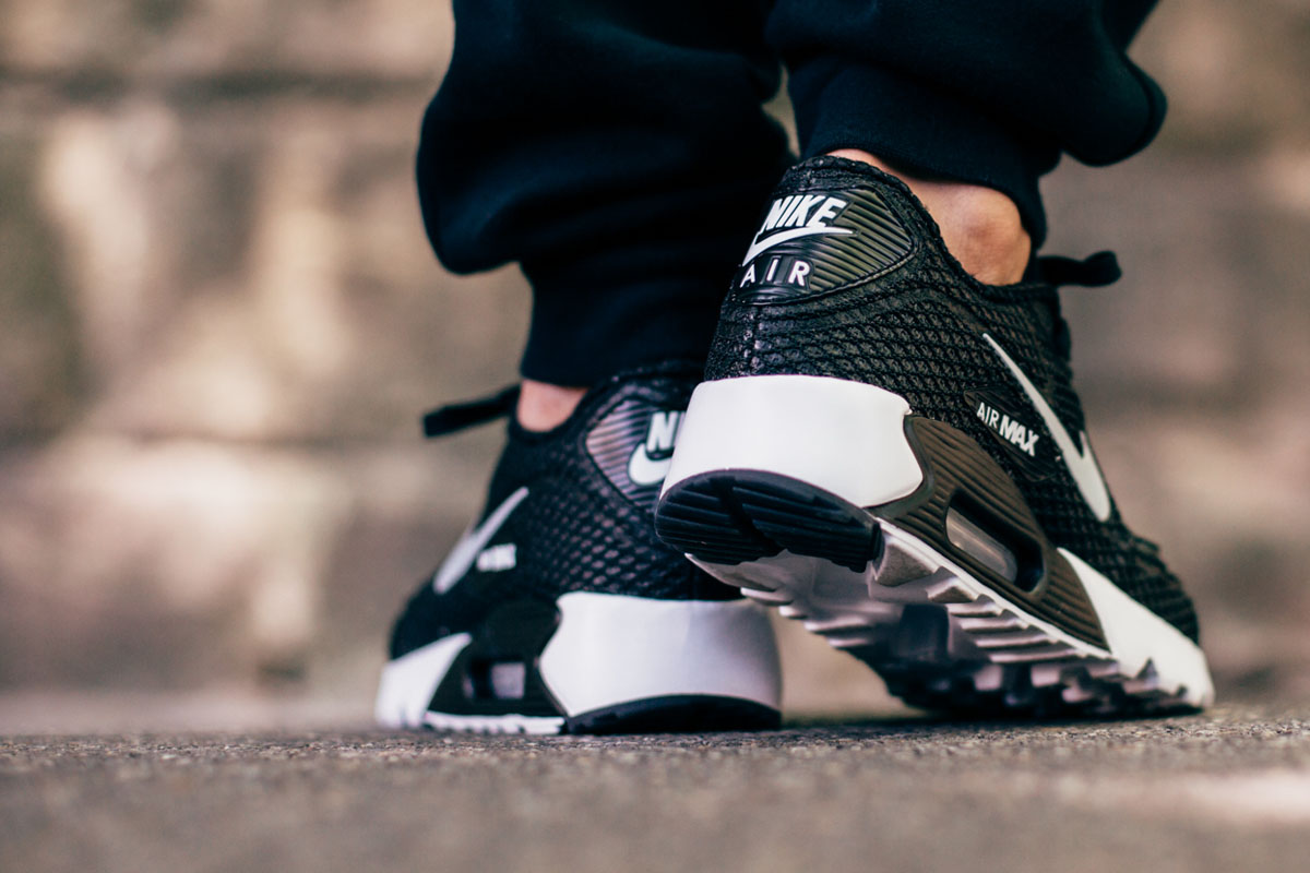 Nike Air Max 90 Ultra BR Plus QS 810170 002 BlackWolf Grey