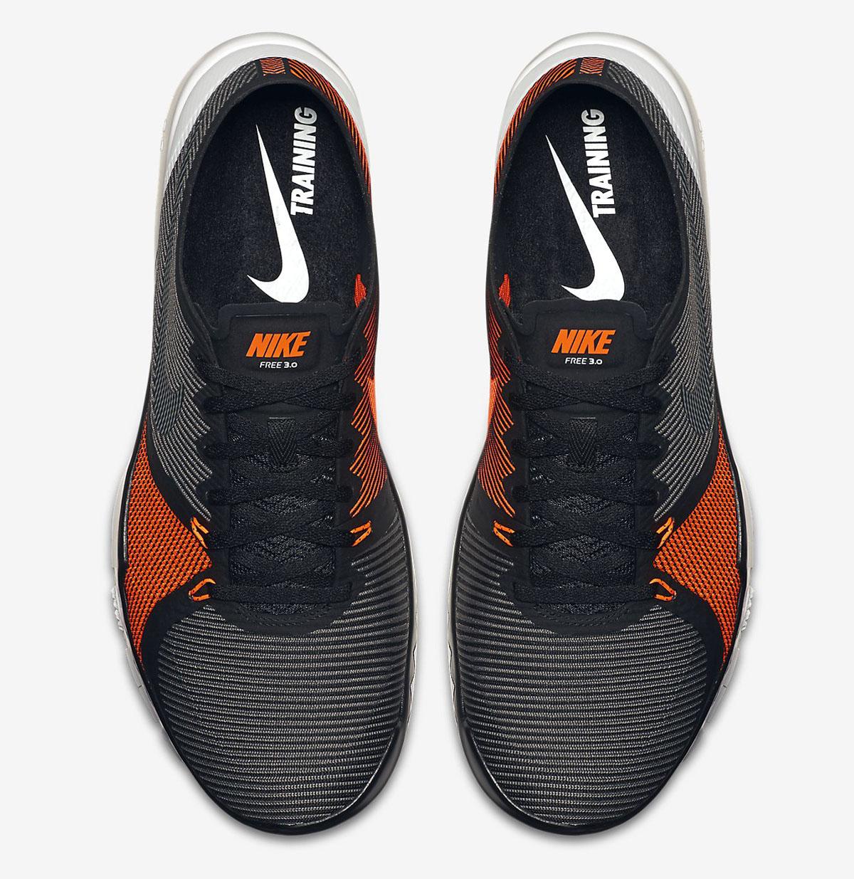 716be2126d6e ... canada nike free trainer 3.0 v4 black tumbled grey total orange e88cd  6901c
