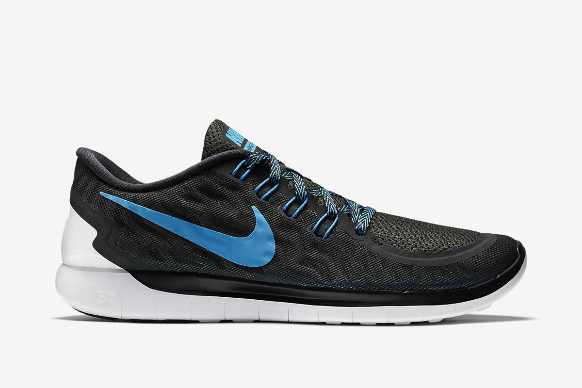 blue and black nike free run 5.0