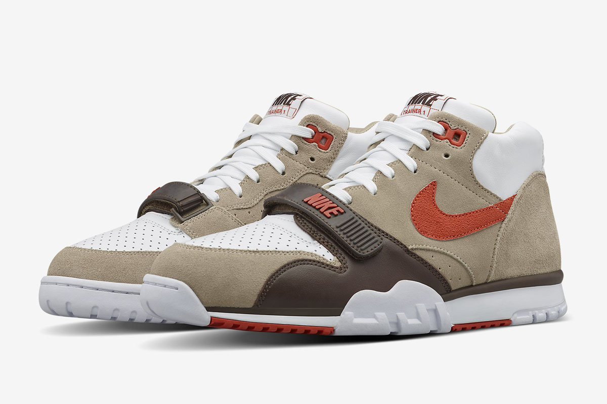 new styles 3268c 7c80f NikeCourt Air Trainer 1 Mid x Fragment