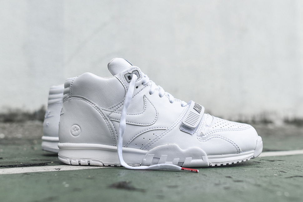 Fragment x Nike Air Trainer 1 Mid SP US Open White