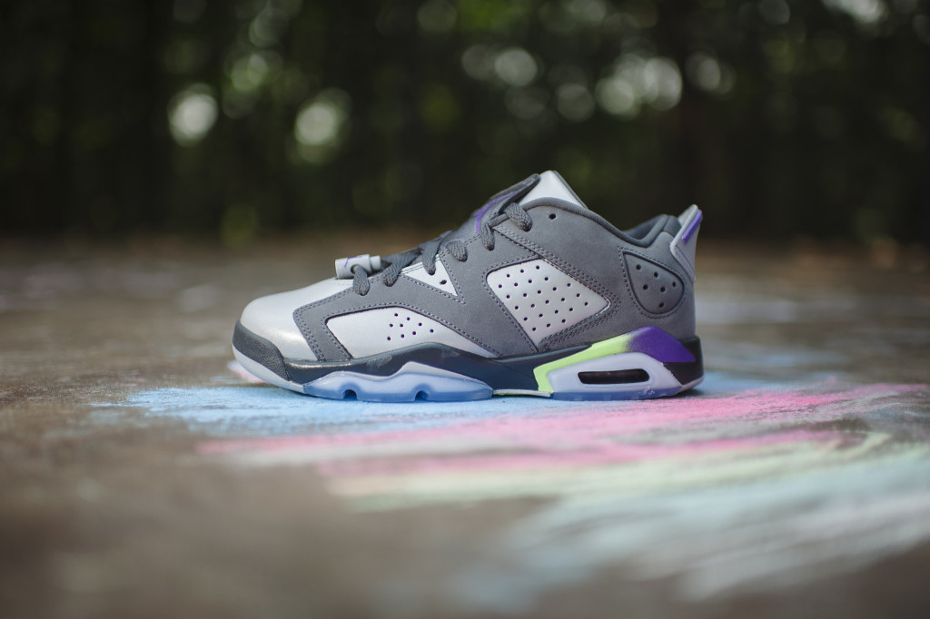 70923dd79253 ... spain air jordan 6 retro low gg grey ultra violet ghost green eu kicks  sneaker magazine