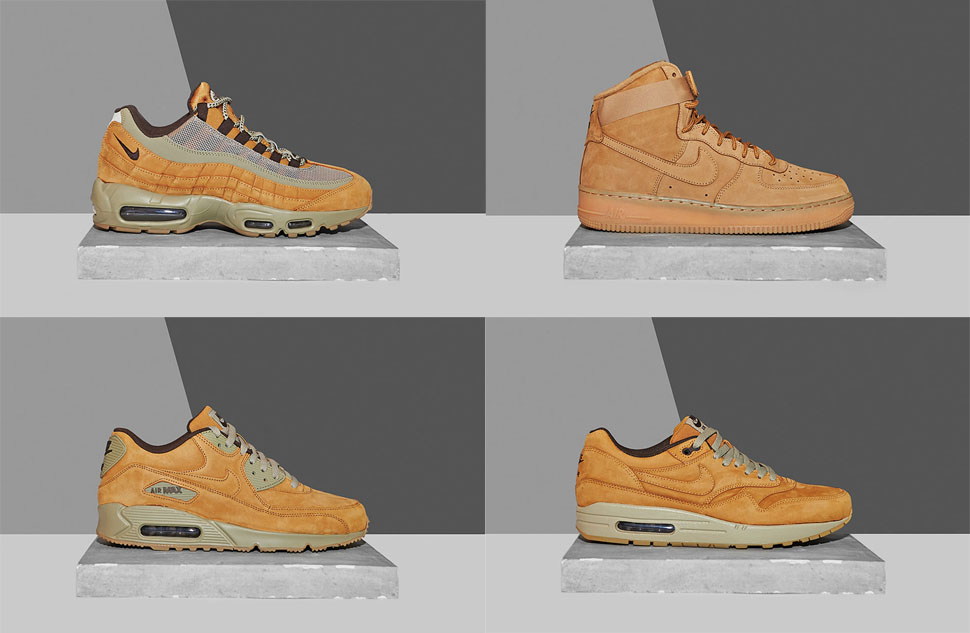 Nike Sportswear Wheat Pack 2015 | SneakerFiles